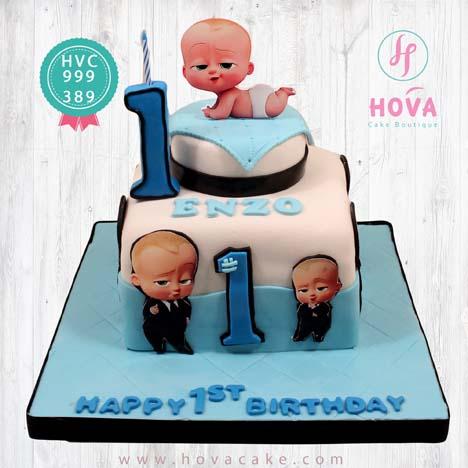 birthday cake baby boss pesan toko dan vendor kue hova