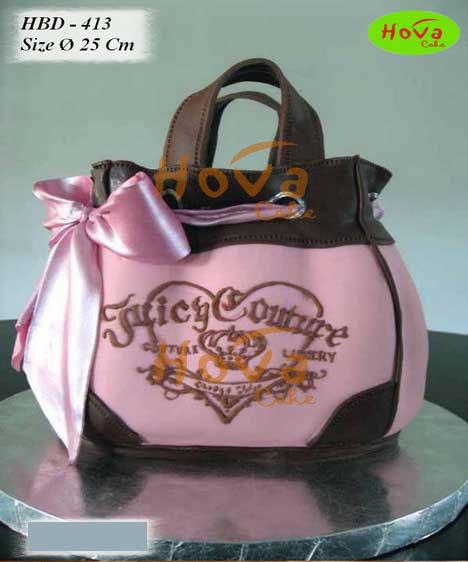 Juicy Couture Birthday Cake Pesan Kue Ulang Tahun Juicy